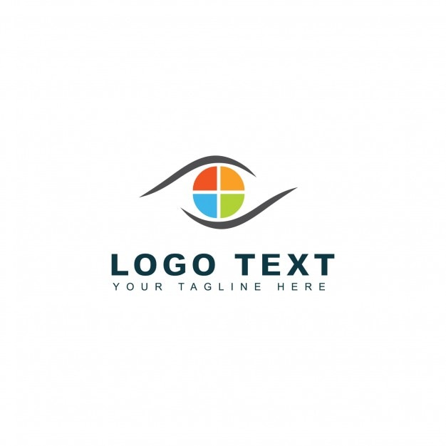 Plantilla de logotipo de photo media Vector Gratis