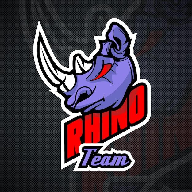 Plantilla de logotipo de Rhino. Alta resolución | Descargar ...
