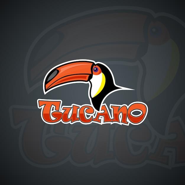Plantilla de logotipo de Toucan. Imagen de vector de alta ...