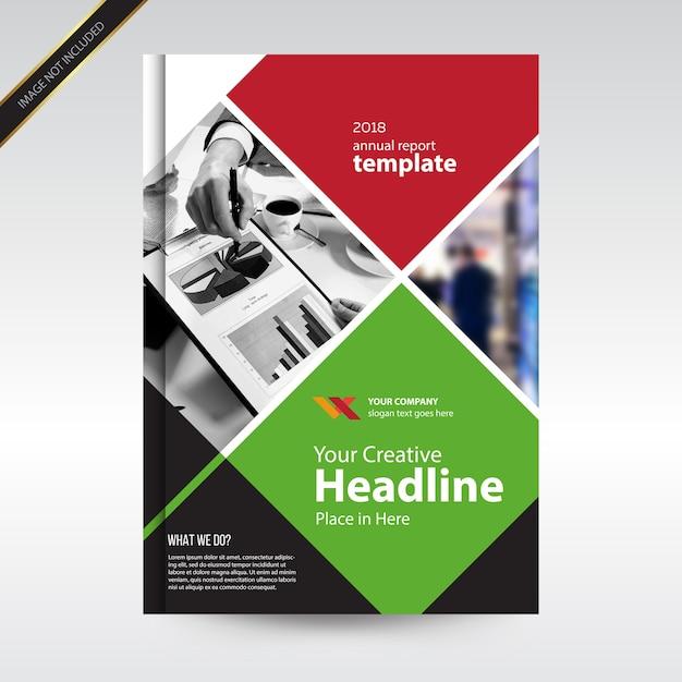 Plantilla de portada de diseño de informe anual   Descargar ...