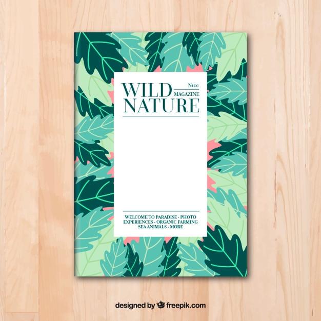 Plantilla de portada de revista de naturaleza salvaje | Descargar ...