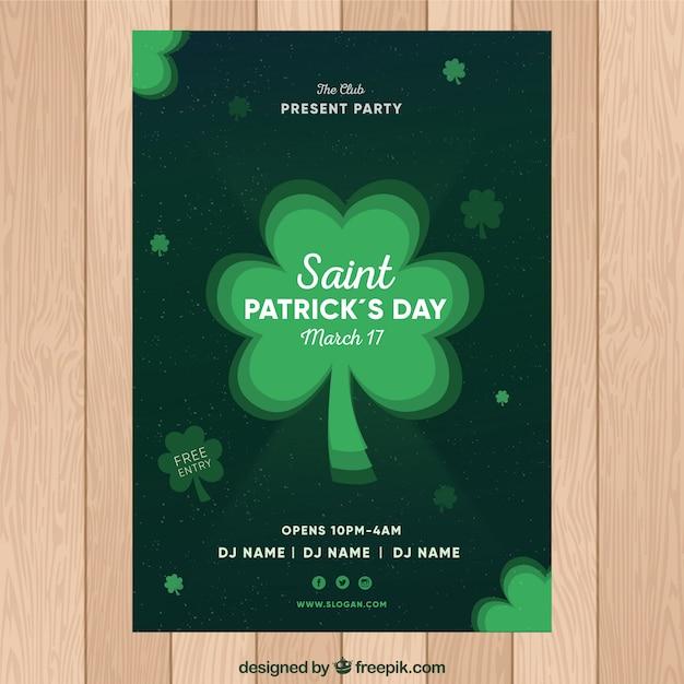 Plantilla de póster / flyer del día de san patricio | Descargar ...