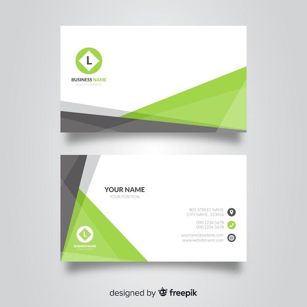 tarjeta verde