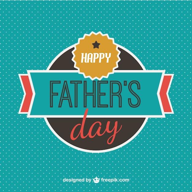 Plantilla de tarjeta día del padre | Descargar Vectores gratis