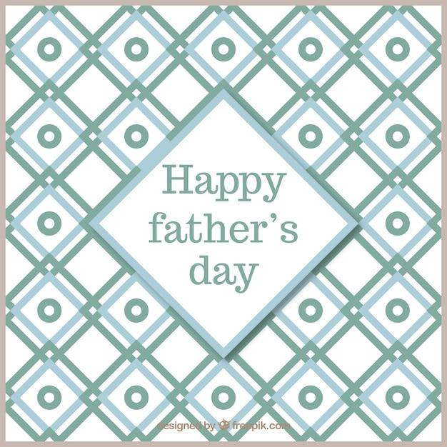 Plantilla de tarjteta para el día del padre | Descargar Vectores gratis