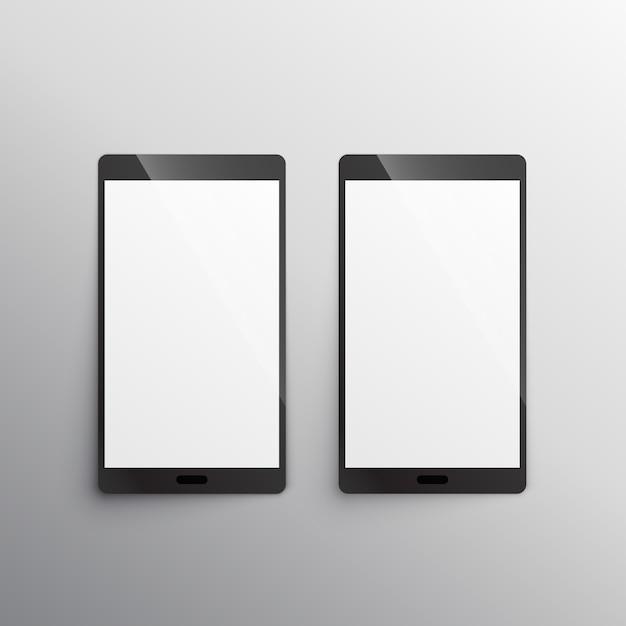 Plantilla de teléfono inteligente con pantalla táctil   Descargar ...