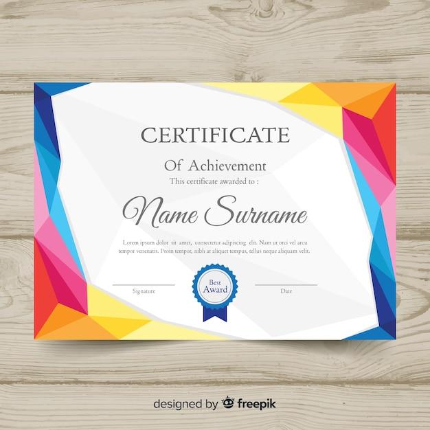 plantilla de diploma