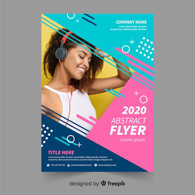 flyer fotos y vectores gratis