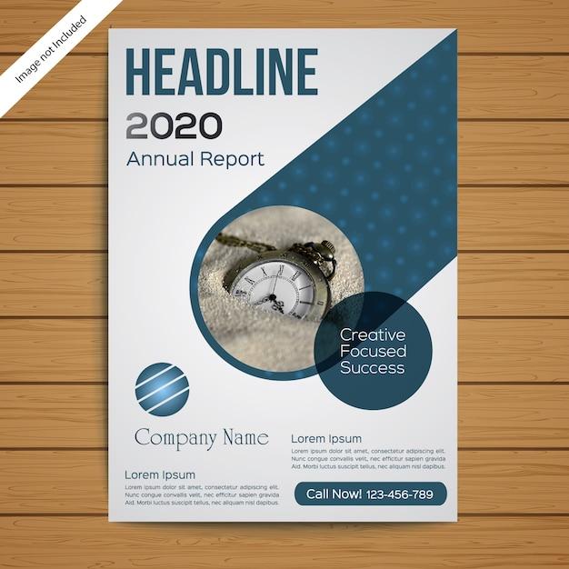 Plantilla de folleto / folleto corporativo Vector Premium