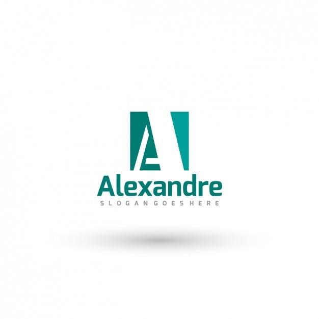 Plantilla de logo tipográfico de negocio vector gratuito