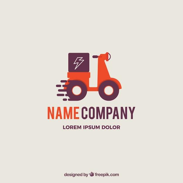 Plantilla de logotipo de envios vector gratuito