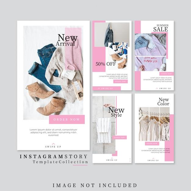 Plantilla de publicación de instagram Vector Premium