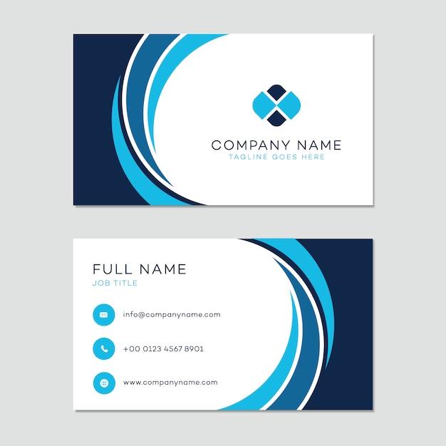 plantilla de tarjeta de presentación descargar vectores gratis