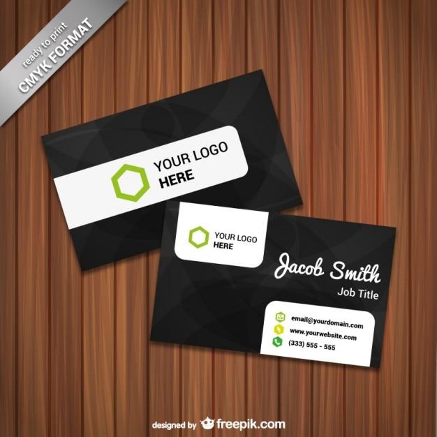 61e22f4b804a9 Plantilla de tarjeta de visita lista para imprimir