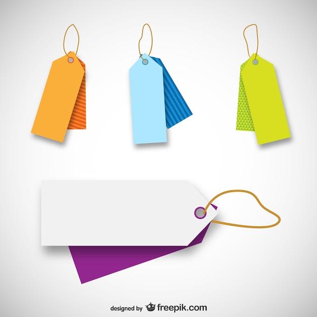 Plantillas de etiquetas de precio | Descargar Vectores gratis