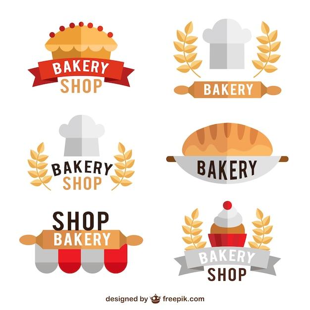 Plantillas de logo de panader a descargar vectores gratis - Plantillas para reposteria ...