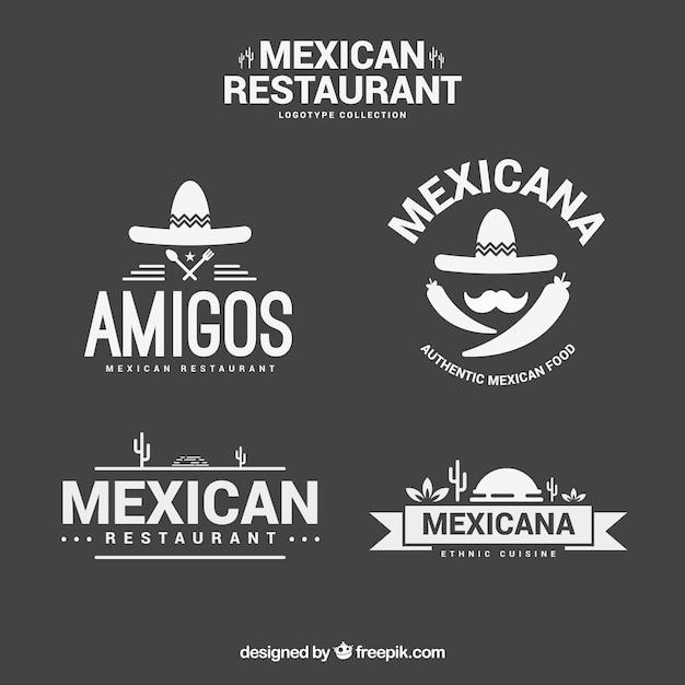 Plantillas de logos elegantes de restaurante mexicano | Descargar ...