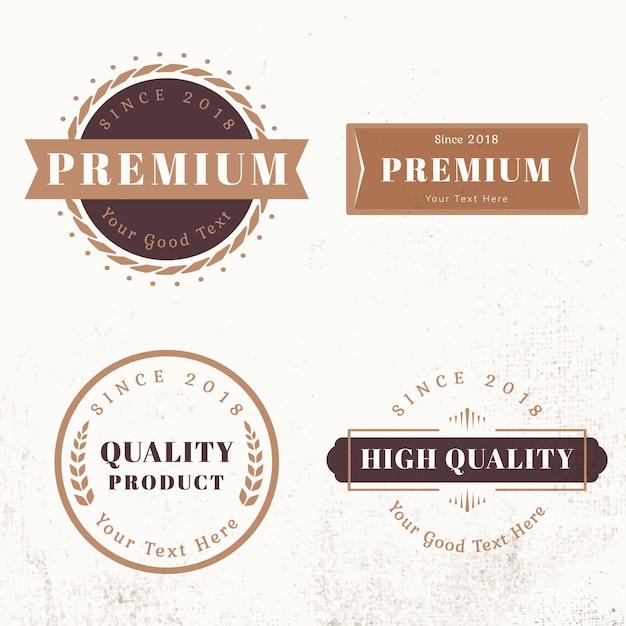 Plantillas de diseño de logotipo vector gratuito