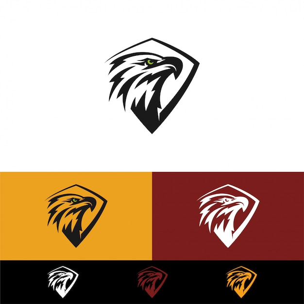 Plantillas de logo eagle Vector Premium