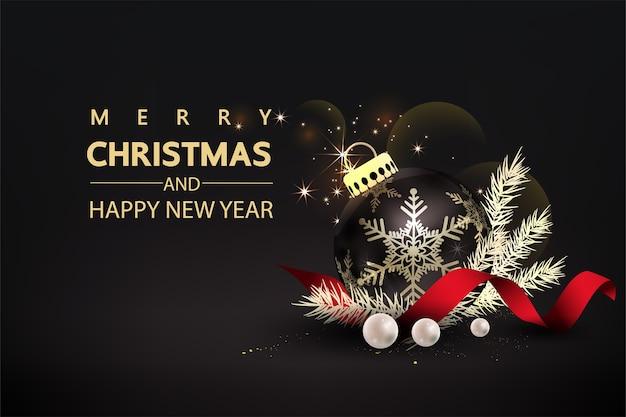 Pomote de redes sociales de navidad, plantillas de publicaciones de promoción. Vector Premium