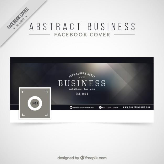Portada de facebook abstracta elegante para facebook for Design ideas facebook