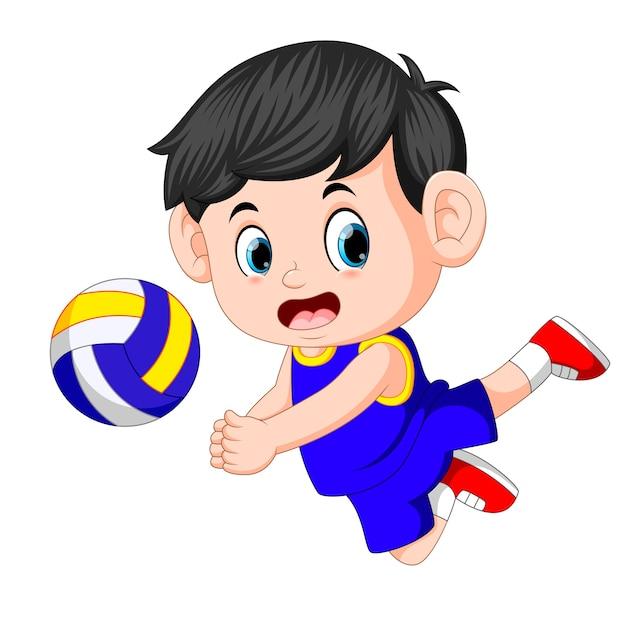 imagenes de voleibol animado