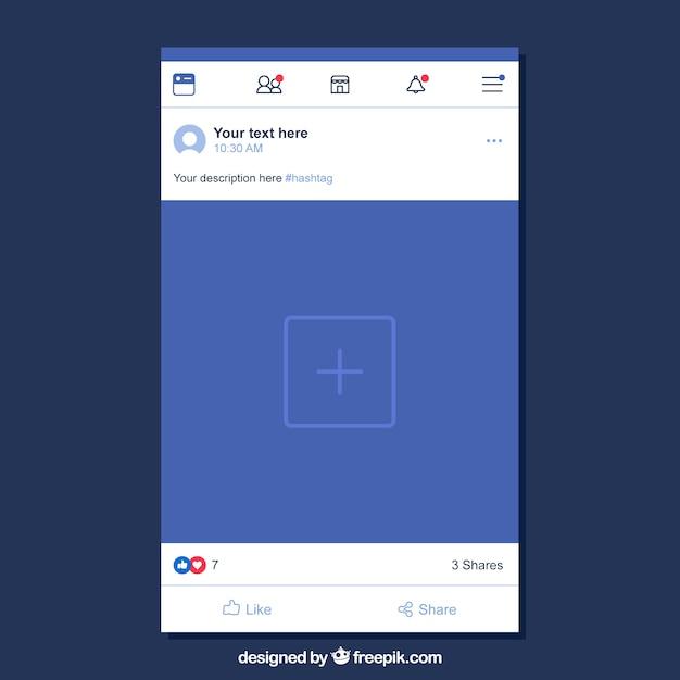 descargar facebook flat