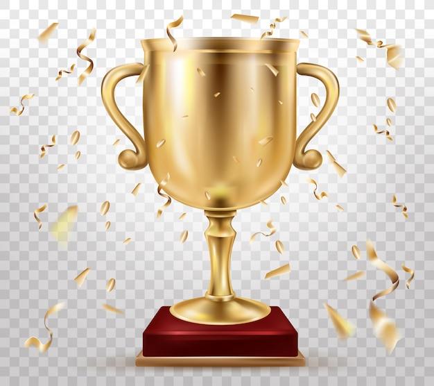 Premio de competición deportiva 3d realista vector gratuito