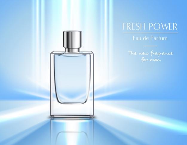 Producto cosmético para hombres composición vector gratuito