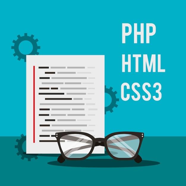 Programa de codificación de documentos idiomas y gafas   Descargar ...