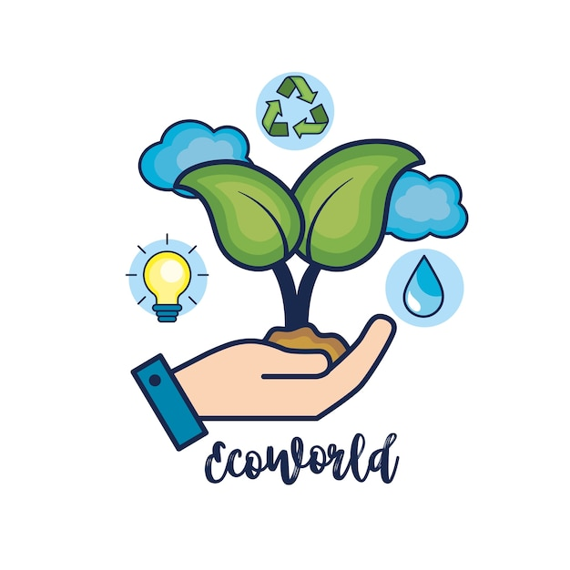 Protección Ecológica Para El Cuidado Del Medio Ambiente Natural