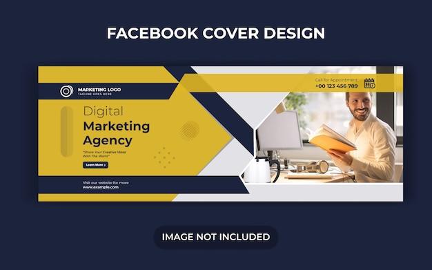 Publicación de redes sociales de marketing digital y diseño de banner o flyer web Vector Premium