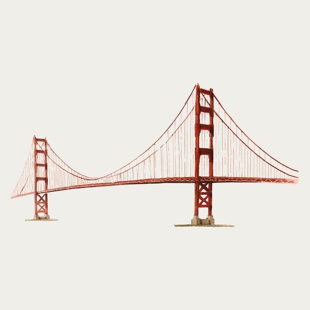 Puente vector gratuito