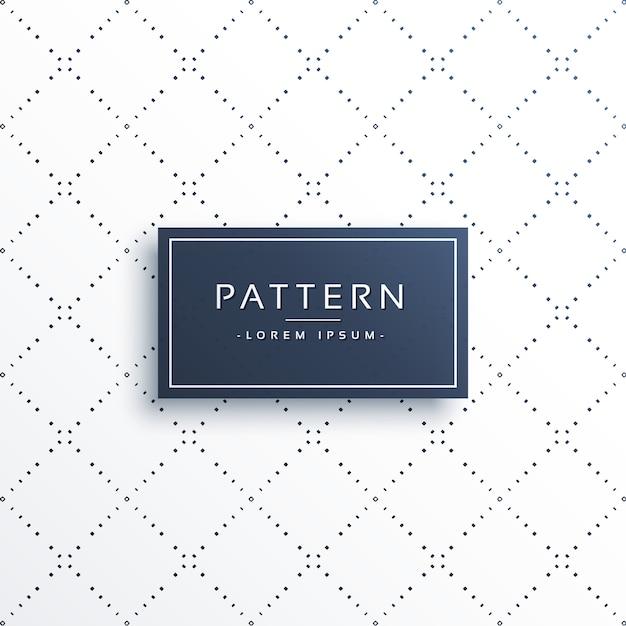 Puntos de línea mínima fondo de patrón de forma de diamante ...