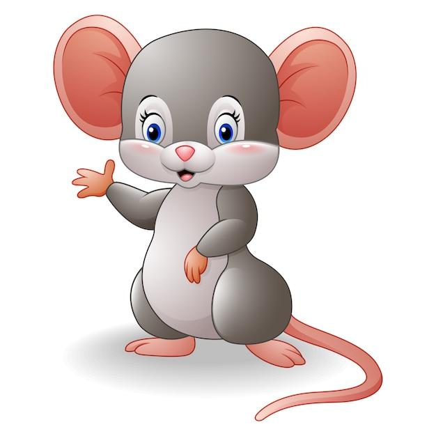 rat u00f3n de dibujos animados  agitando la mano descargar vectores premium adobe illustrator clip art free download adobe illustrator clip art free download