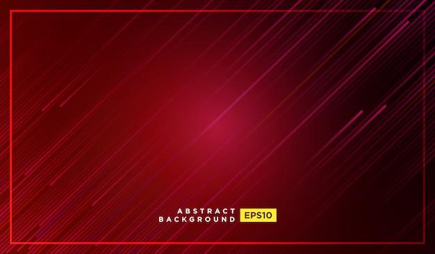 Rayas diagonales líneas cayendo con sombra y luz brillante ilustración Vector Premium