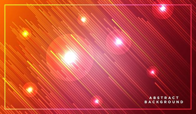Rayas diagonales líneas que se levantan con luz brillante Vector Premium
