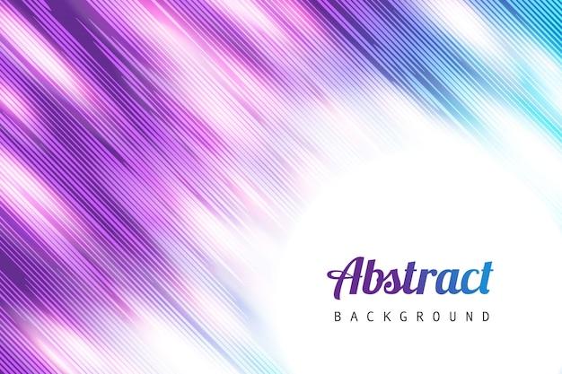Rayas de fondo abstracto ligero vector gratuito