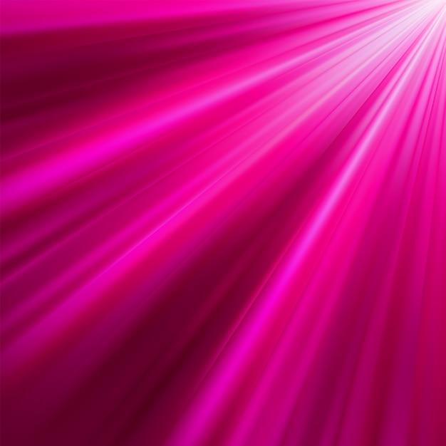 Rayos luminosos púrpuras. archivo incluido Vector Premium