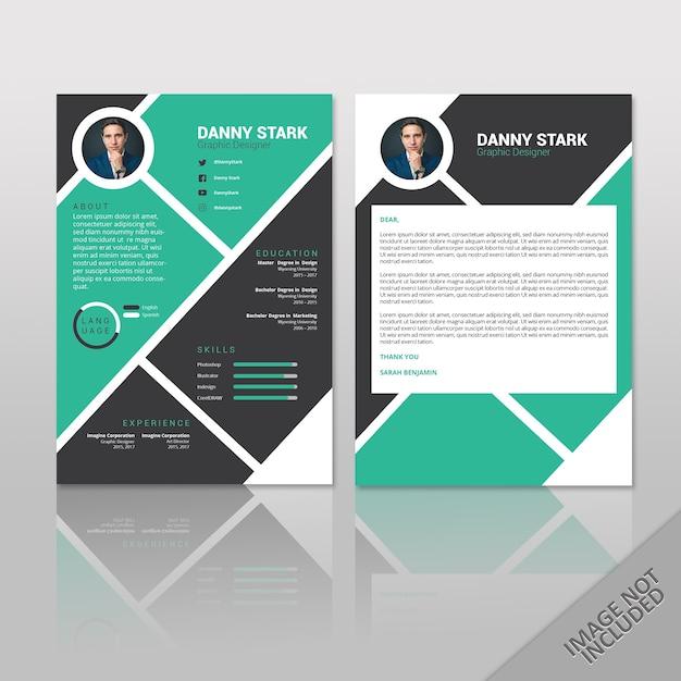 Reanudar a danny stark | Descargar Vectores Premium