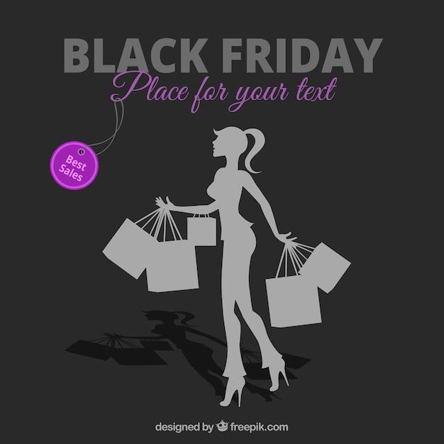 Rebajas de viernes negro vector gratuito