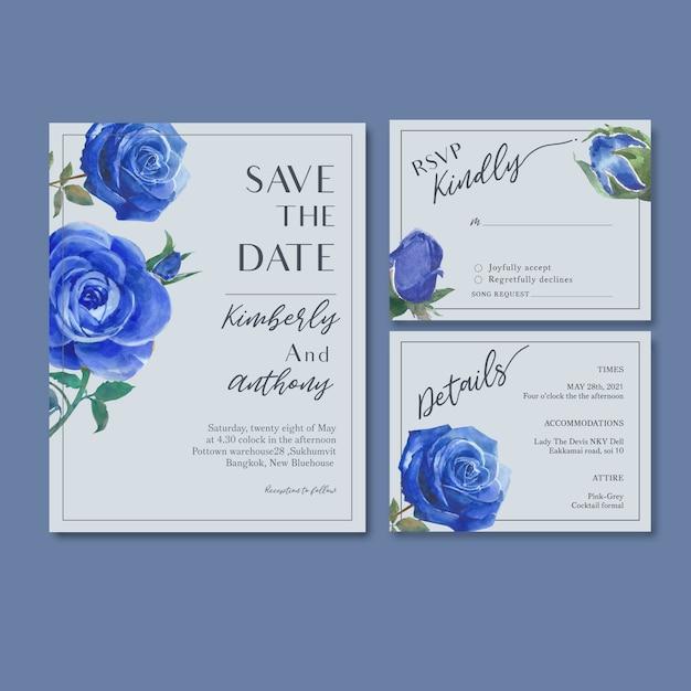 Recepción de boda flores con follaje pastel vector gratuito