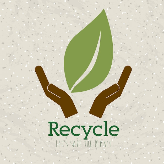 Reciclar Vector Premium
