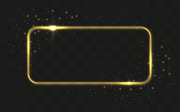 rect225ngulo brillante sobre fondo negro descargar