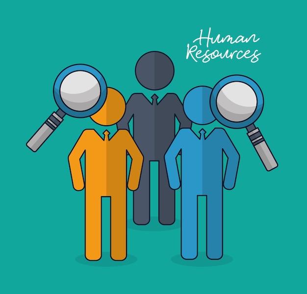 Recursos Humanos Relacionados Descargar Vectores Premium