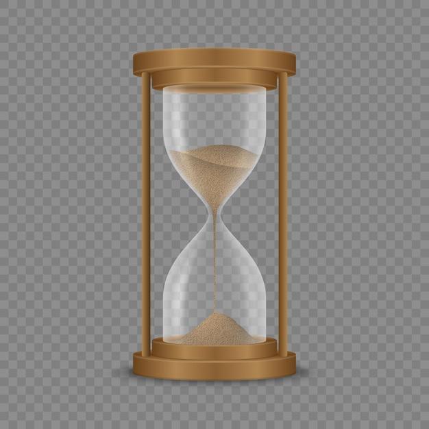 Reloj de arena reloj de arena Vector Premium
