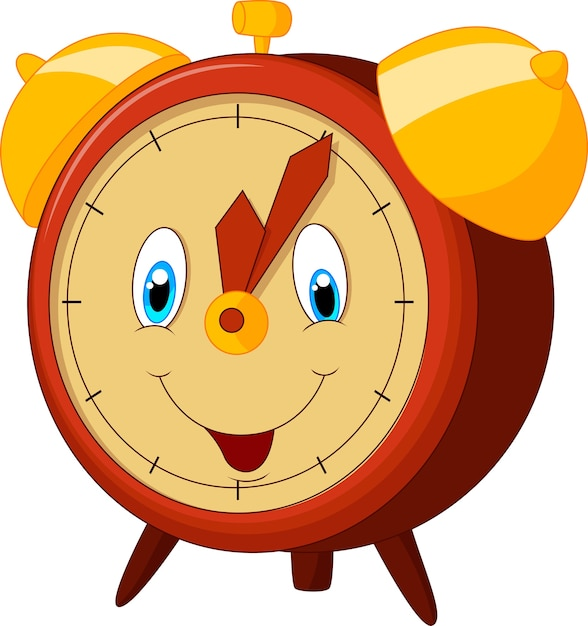 Reloj Despertador De Dibujos Animados