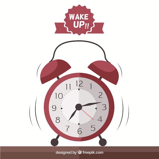 Reloj despertador Vector Gratis