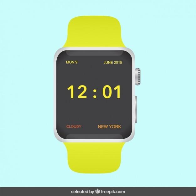 talla 40 1c099 f04d0 Reloj digital moderno   Descargar Vectores gratis