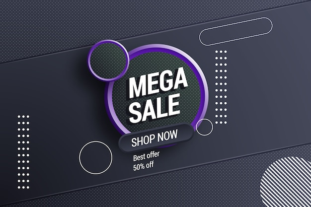 Resumen antecedentes de ventas oscuras vector gratuito